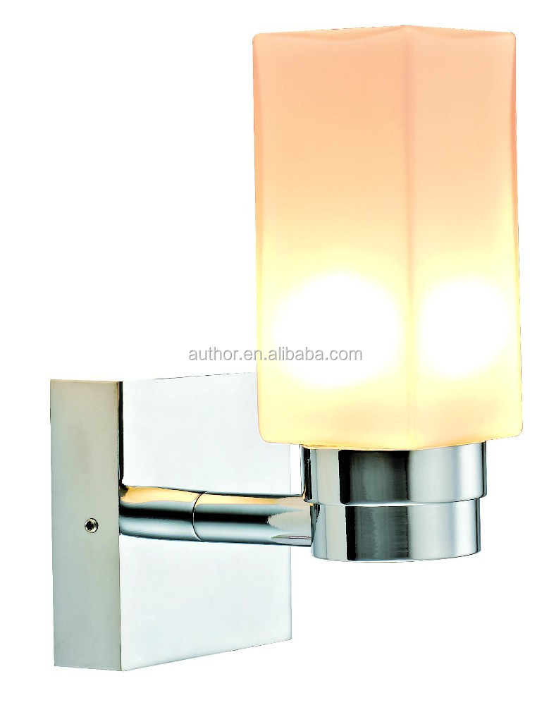 Decorative Water -proof G9 Wall Lamp With Opal Glass Lampshade For Home Or Hotel Furniture 6855