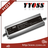 5 years warranty led driver for street light waterproof 150w 24v constant voltage power supply