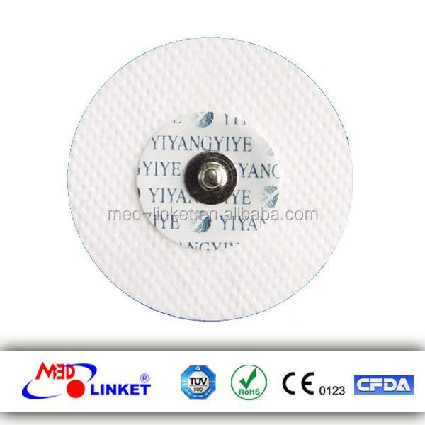 Disposable Adult ECG Electrodes Compatible for All Monitoring/Telemetry/Electrocardiograph instrument