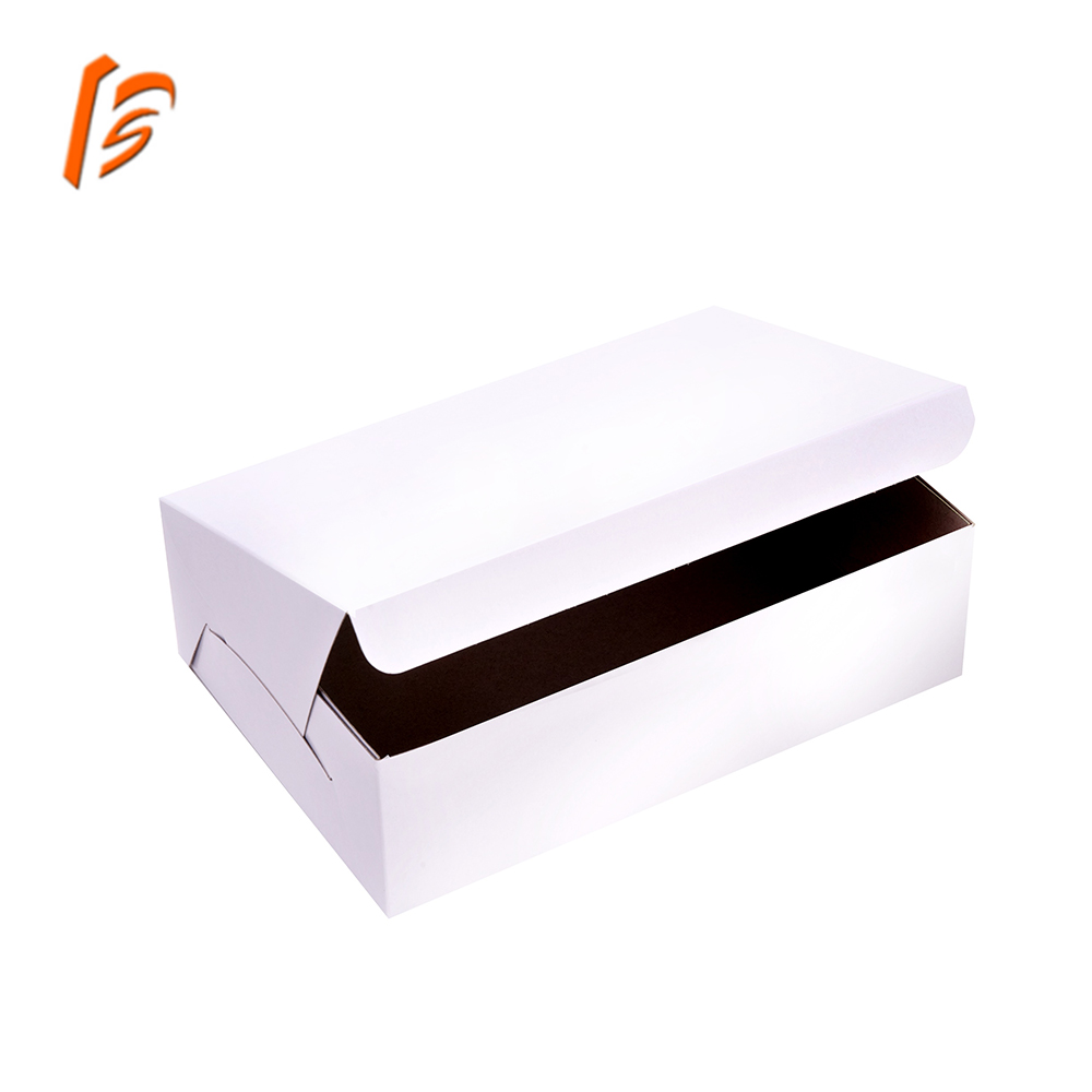 biodegradable food packaging kraft paper board bakery box containers