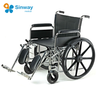 American steel extra wide heavy duty bariatric wheelchair