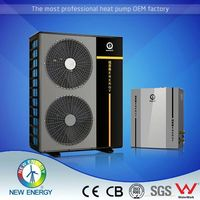 germany ce wall mounted heat pump solar collector 9kw 18kw 22kw 25kw