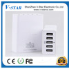 5 in 1 wall charger for iphone 4/iphone5/android/S5 travel wireless charger