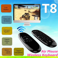 2015 T8 Air Mouse mini remote air mouse T8 F10 Air flying Mouse wireless Keyboard for Android tv box TV Dongle