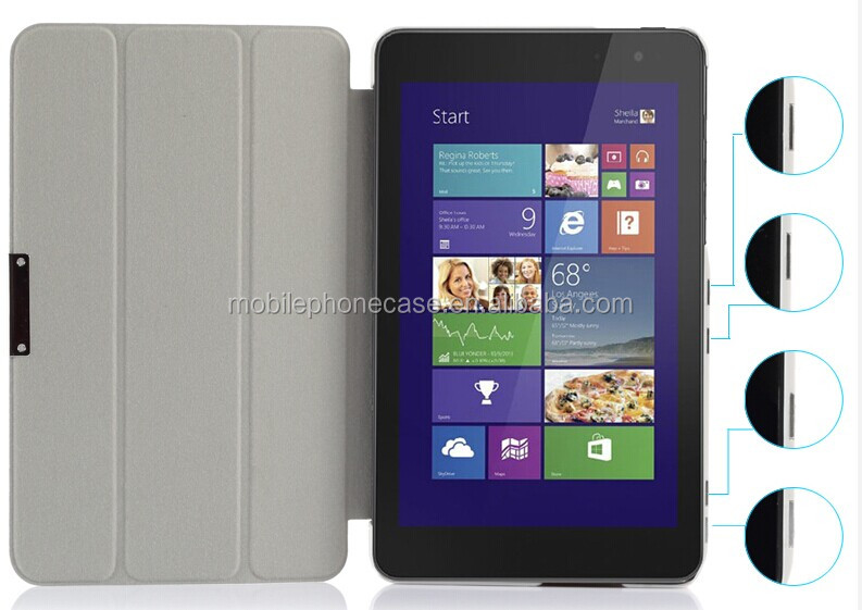 leather case for Dell Venue 8 pro
