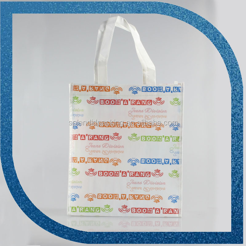 Yiwu Supplier Recycle Customized Laminated Cloth Bag Nonwoven Shopping Bag