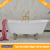 NH-1008-3 clawfoot traditional freestanding cast iron bathtub