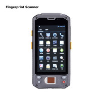 Caribe PL-43 AG062 Dual core wlan wifi finger rugged android phone with biometrics