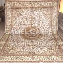 Handmade Kashmir Silk Rugs Carpets Chinese Art Silk Rug