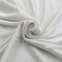 Cheap 100% polyester 50D FDY 32needle 90GSM weft knitted lining fabric plain lustrous soft for silk pajamas and composite fabric