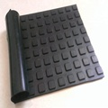 good quality new design small square rubber flooring mat cow mat