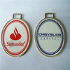 Brand logo tag metal Metal Golf Bag Tag / Hang Metal Tags