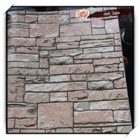 hot sale 3d stone wallpaper with good quality