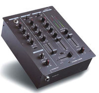 Pro Audio 3 channel mixing console Digital Professional DJ mixer with USB input