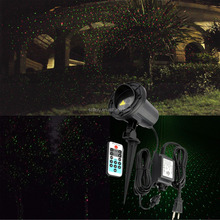 Outdoor landscape IP65 waterproof Christmas holiday decoration star garden laser light