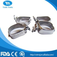 Hot Selling Tiantian Dental Orthodontic Instruments Orthodontic Molar Bands with CE ISO FDA