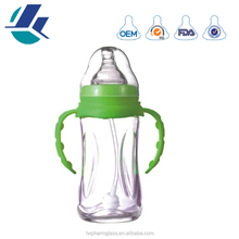 Factory wholesale baby glass bottle