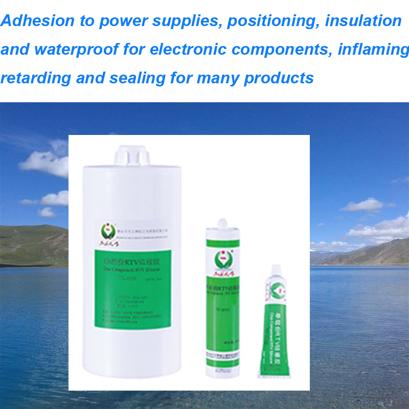 Silicone Gel Adhesive Inflaming Retarding Sealants and Adhesives MSDS for Adhesive Glue