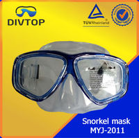 Silicone Frameless Snorkel Set Fins And Diving Mask