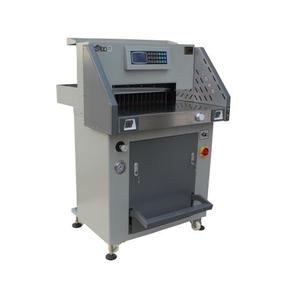 Professional Manufacturer new design 490mm cutting width 80mm cutting height Programable Paper Cutting Machine guillotines