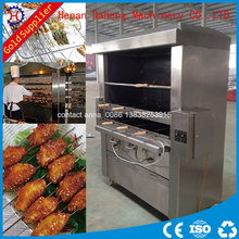 smokeless charcoal brazilian rodizio machine gas grill