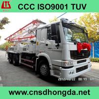 42m-boom Concrete Pump Truck with ISUZU CYH51Y Chassis