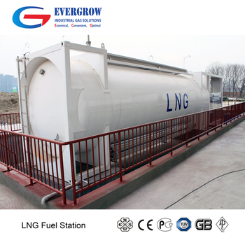 Mobile and moveable LNG LCNG Fueling station