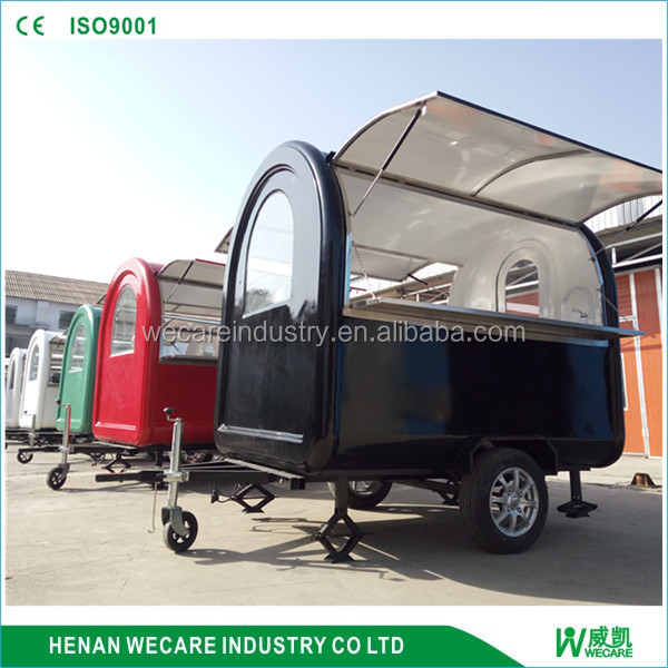 Outdoor Commercial Motorcycle Food cart