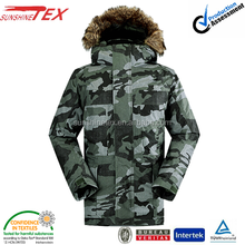 men camo padding jackets 13E 5519
