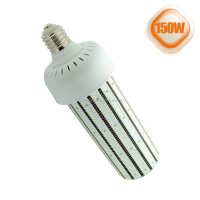 Ip64 e39 base 150w led corn light bulb replace 400w metal halide lamp with fan