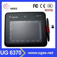 Ugee 6370 Wireless digital pen USB electronic signature/writing pad for computer
