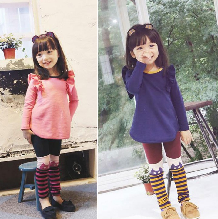 D34069A 2014 SPRING FASHION CHILRENS CLOTHING CLTOHING GIRLS FANCY SETS