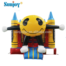 Commercial rental face bounce house kids inflatable bouncy castle cheap inflatable jumping castles with prices