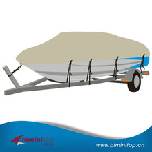Deluxe 600D polyester oxfored small boat covers
