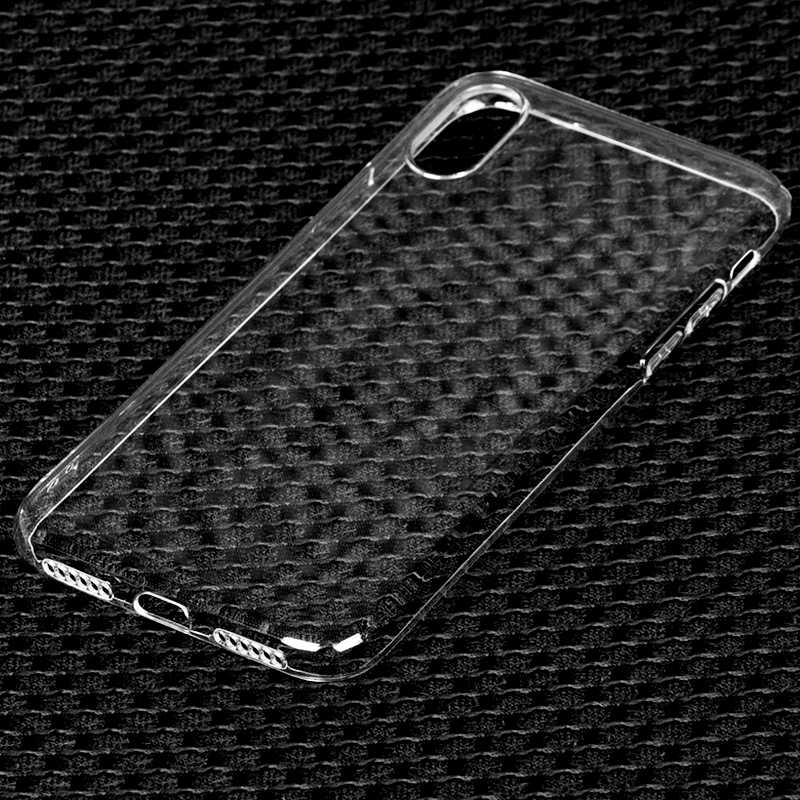 DFIFAN Glossy Transparent Clear Phone Covers for Iphone x , New Products 2017 Mobile Phone Cases for Apple iphone x