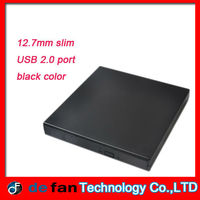 New arrival 12.7mm USB 2.0 Slim Optical Drive Case/Caddy
