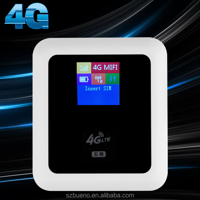 WIFI Wireless USB Modem 4g Mifis 4G LTE Router With 5200mAh Battery