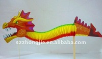 Chinese new year paper dragon