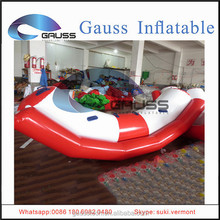new inflatable floating seesaw with seat/inflatable water game for adults