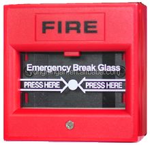 IP65 Wholesale Conventional Emergency Manual Break Glass with Waterproof Case