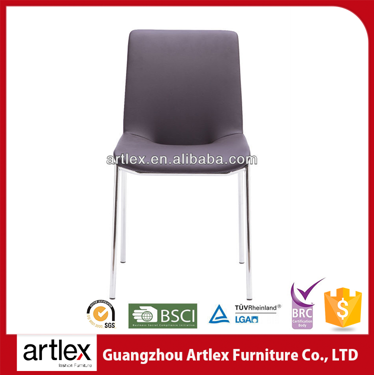 China Guangdong Cheap Stackable Color High-strength Metal Simple Dining Chair