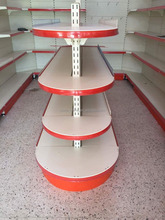 Supermarket storage shelving/ display shelves/estanterias metalicas