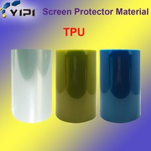 2017 Top Quality TPU Soft Anti Shock Screen Protector Roll Material, Mobile Phone Use TPU Material//