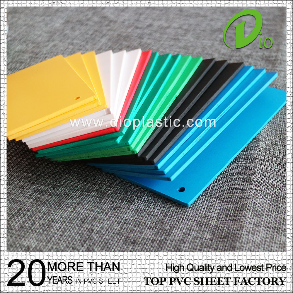 blue pvc foam board 1mm 2mm from china supplier