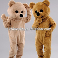 deluxe fur teddy bear animal mascot costumes