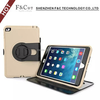 Heavy Duty rugged impact Dual Layer Hybrid Case cover for ipad mini 4 Protective Case cover for ipad mini 4
