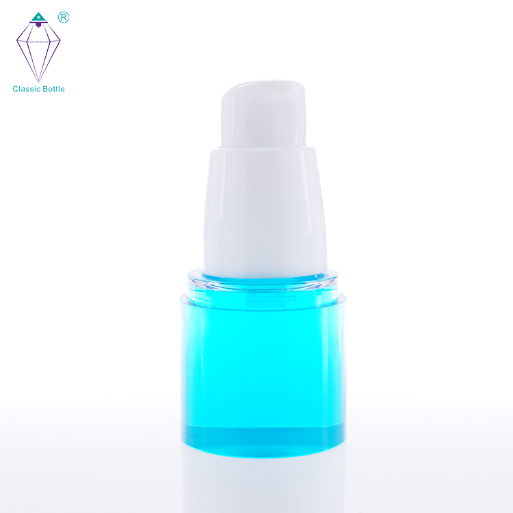 skin care lotion body packaging airless glass cosmetic spray bottle