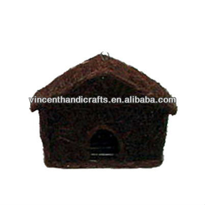 Country original style house rattan weaving bird house