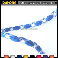 OEM supplier multi-color decorative polyester twisted rope