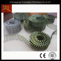 professional fastener standard 15 degree wire coil nail supplier